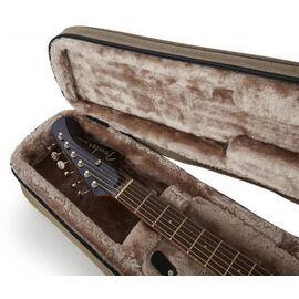 Кейс для 12-струнної акустичної гітари GATOR GTR-DREAD12-TAN Tan Transit Lightweight Dreadnought Guitar Case, фото 14