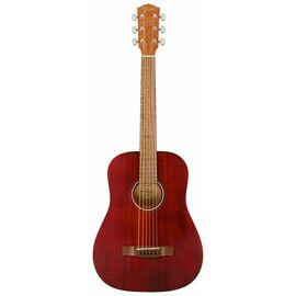 Акустическая гитара FENDER FA-15 STEEL 3/4 RED WN w/BAG, фото