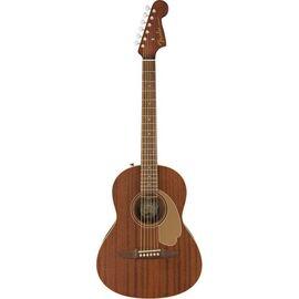 Електроакустична гітара FENDER SONORAN MINI MAHOGANY WN, фото