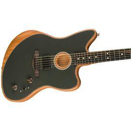 Полуакустическая гитара FENDER AMERICAN ACOUSTASONIC JAZZMASTER TUNGSTEN, фото 2
