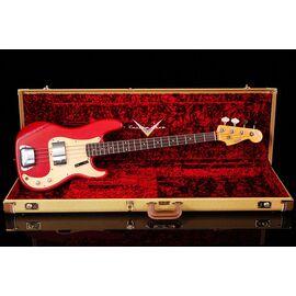 Бас-гітара FENDER CUSTOM SHOP 1959 PRECISION BASS JOURNEYMAN RELIC AGED DAKOTA RED, фото 10