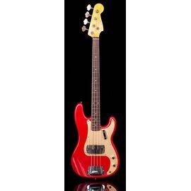 Бас-гітара FENDER CUSTOM SHOP 1959 PRECISION BASS JOURNEYMAN RELIC AGED DAKOTA RED, фото 2