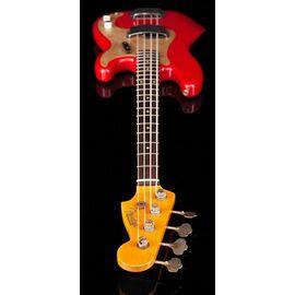 Бас-гітара FENDER CUSTOM SHOP 1959 PRECISION BASS JOURNEYMAN RELIC AGED DAKOTA RED, фото 4