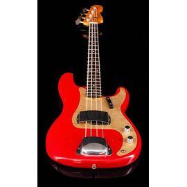 Бас-гітара FENDER CUSTOM SHOP 1959 PRECISION BASS JOURNEYMAN RELIC AGED DAKOTA RED, фото 5
