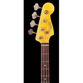 Бас-гітара FENDER CUSTOM SHOP 1959 PRECISION BASS JOURNEYMAN RELIC AGED DAKOTA RED, фото 6
