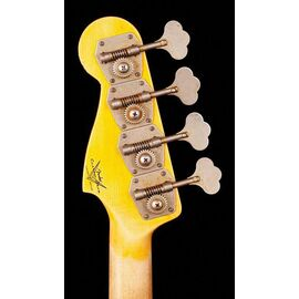 Бас-гітара FENDER CUSTOM SHOP 1959 PRECISION BASS JOURNEYMAN RELIC AGED DAKOTA RED, фото 7