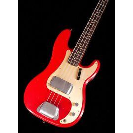Бас-гітара FENDER CUSTOM SHOP 1959 PRECISION BASS JOURNEYMAN RELIC AGED DAKOTA RED, фото 8