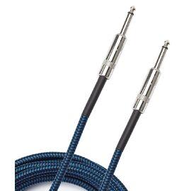 Инструментальный кабель D'ADDARIO PW-BG-10BU Custom Series Braided Instrument Cable - Blue (3m), фото 2