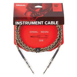 Инструментальный кабель D'ADDARIO PW-BG-10CF Custom Series Braided Instrument Cable - Camouflage (3m), фото