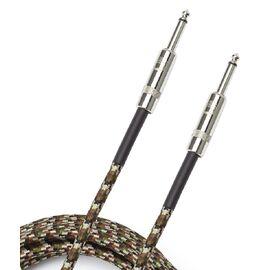 Инструментальный кабель D'ADDARIO PW-BG-10CF Custom Series Braided Instrument Cable - Camouflage (3m), фото 2