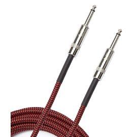 Инструментальный кабель D'ADDARIO PW-BG-10RD Custom Series Braided Instrument Cable - Red (3m), фото 2