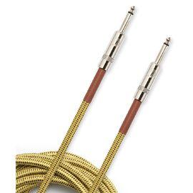 Инструментальный кабель D'ADDARIO PW-BG-10TW Custom Series Braided Instrument Cable - Tweed (3m), фото 2