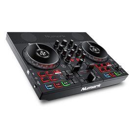 DJ контроллер со встроенным световым шоу и динамиками NUMARK PARTY MIX LIVE, фото 2