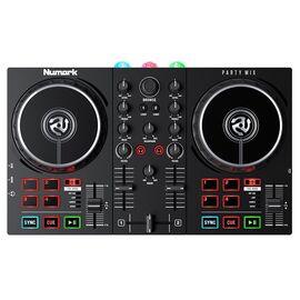 DJ контролер з вбудованим світловим шоу NUMARK PARTY MIX II, фото