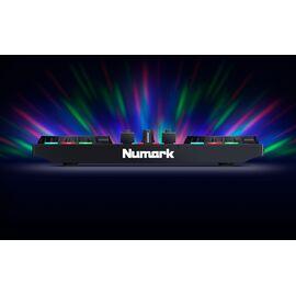 DJ контролер з вбудованим світловим шоу NUMARK PARTY MIX II, фото 6