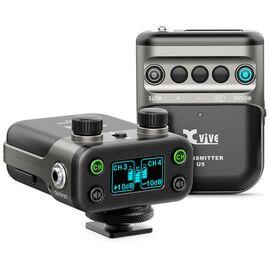 Бездротова система з петличні мікрофоном для DSLR камери XVIVE U5 Wireless Audio for Video System, фото
