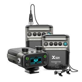Бездротова система з Петличний мікрофонами для DSLR камери XVIVE U5T2 Wireless Audio for Video System, фото