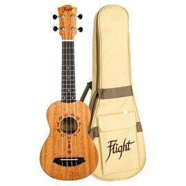 Укулеле сопрано Flight DUS371 Mahogany, фото