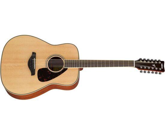 Акустична гітара YAMAHA FG820-12 (NT), фото