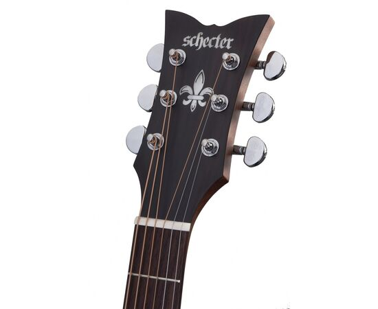 Акустична гітара SCHECTER DELUXE ACOUSTIC NS, фото 8