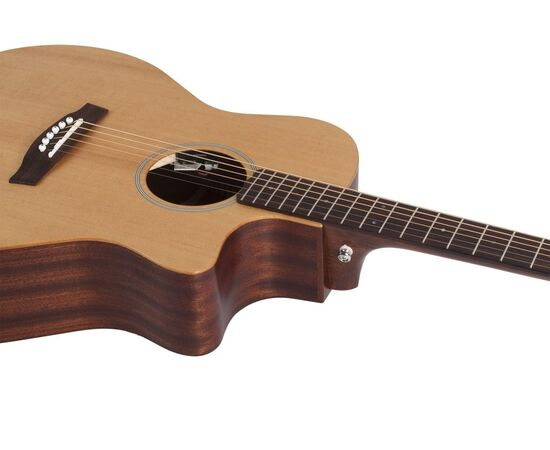Акустична гітара SCHECTER DELUXE ACOUSTIC NS, фото 3