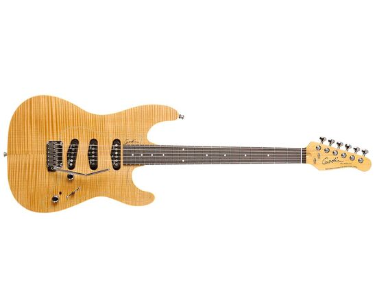 Электрогитара GODIN 031092 PASSION RG3 Natural Flame RN with Tour Case, фото 2