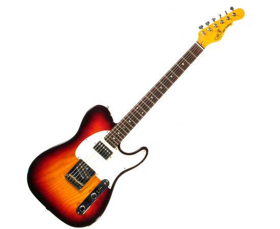 Електрогітара G & L ASAT CLASSIC Blues Boy (3 Tone Sunburst, ebony) № CLF48480, фото