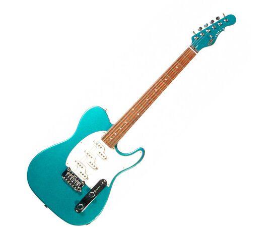 Электроогитара G&L ASAT Z3 (Emerald Blue. 3-ply Pearl.rosewood) № CLF51011, фото