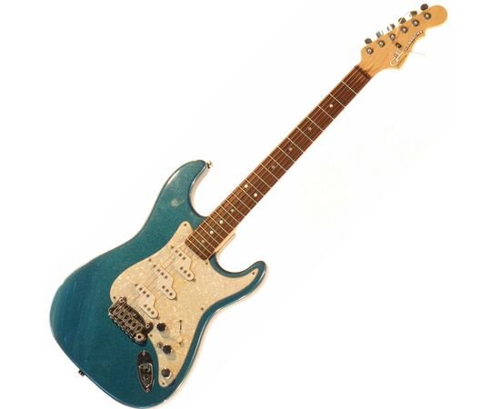 Электрогитара G&L COMANCHE (Emerald Blue. 3-ply Pearl. rosewood). № CLF43398, фото