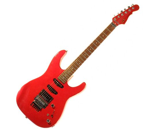 Электрогитара G&L INVADER (Candy Apple Red, Rosewood). № CLF51033, фото