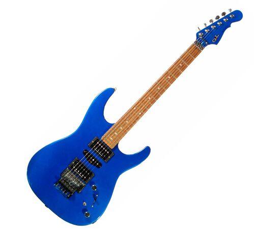 Электрогитара G&L INVADER Plus (Electric Blue. rosewood). № CLF51036, фото