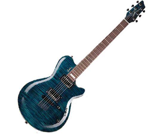 Електрогітара GODIN 21161 LG SIGNATURE Trans Blue Flame AA, фото