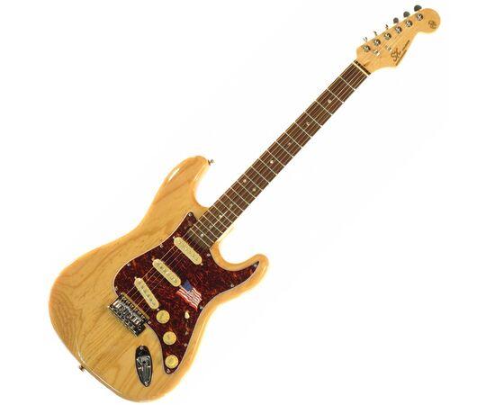 "Электрогитара (копия ""Fender Stratacaster"") SX FST/ASH/R/NA, фото"