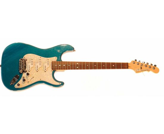 Электрогитара G&L COMANCHE (Emerald Blue. 3-ply Pearl. rosewood). № CLF43398, фото 2