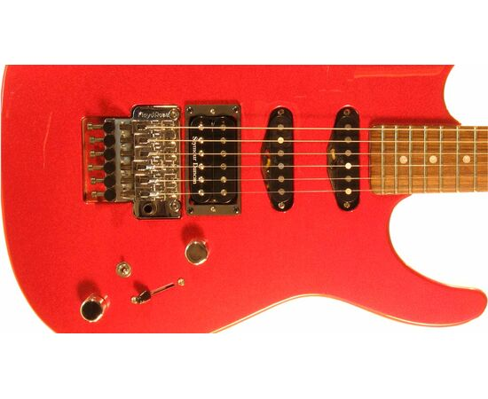 Электрогитара G&L INVADER (Candy Apple Red, Rosewood). № CLF51033, фото 4
