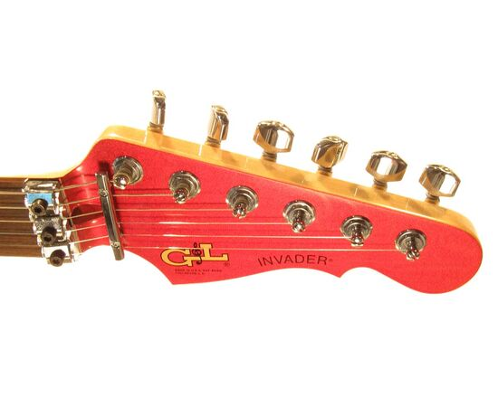 Электрогитара G&L INVADER (Candy Apple Red, Rosewood). № CLF51033, фото 5