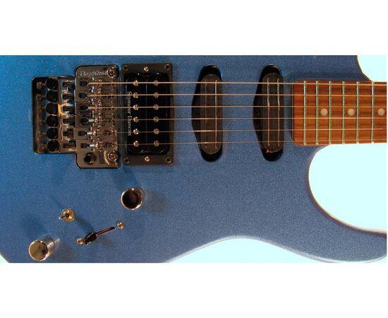 Электрогитара G&L INVADER (Lake Placid Blue, rosewood) (+HOT RAILS). № CLF52384, фото 4