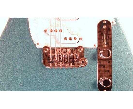 Электроогитара G&L ASAT Z3 (Emerald Blue. 3-ply Pearl.rosewood) № CLF51011, фото 5