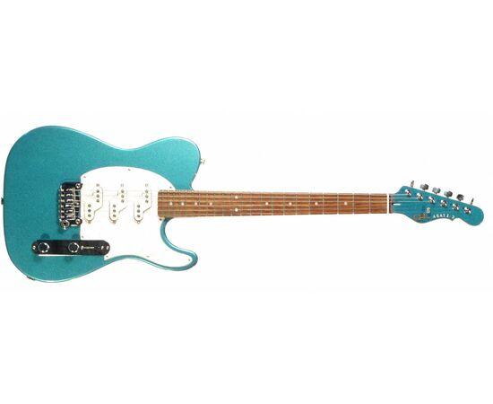 Электроогитара G&L ASAT Z3 (Emerald Blue. 3-ply Pearl.rosewood) № CLF51011, фото 2