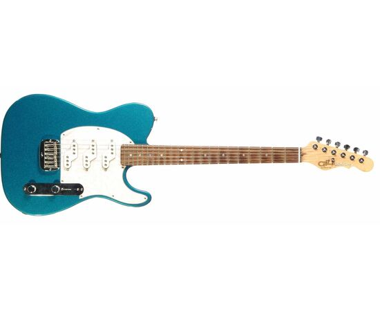 Електроогітара G & L ASAT Z3 (Emerald Blue, rosewood, 3-ply Pearl) № CLF45593, фото 2