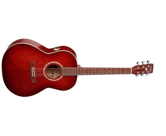 Акустическая гитара ART&LUTHERIE 032990 Folk Spruce Burgundy QI 372/465 2739, фото 2