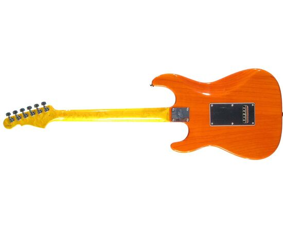 Электрогитара G&L LEGACY (Clear Orange, 3-ply Vintage Creme, Maple), фото 3
