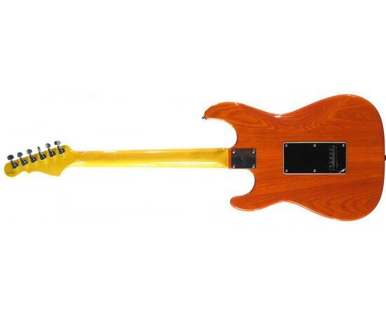 Электрогитара G&L LEGACY (Clear Orange.3-ply Vintage Creme. rosewood), фото 3