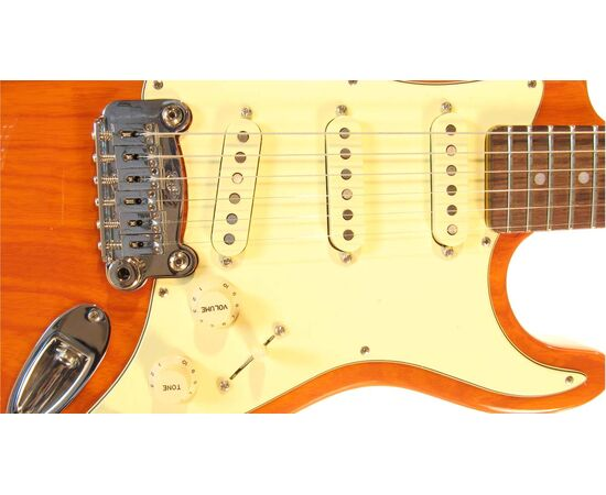 Электрогитара G&L LEGACY (Clear Orange.3-ply Vintage Creme. rosewood), фото 4