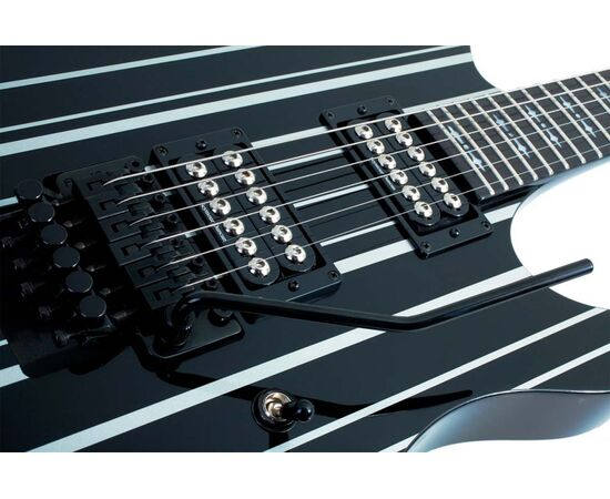 Электрогитара SCHECTER Synyster Gates Custom BLK/SIL, фото 6