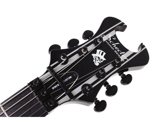 Электрогитара SCHECTER Synyster Gates Custom BLK/SIL, фото 9