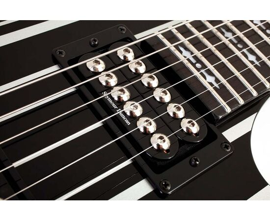 Электрогитара SCHECTER Synyster Gates Custom BLK/SIL, фото 4
