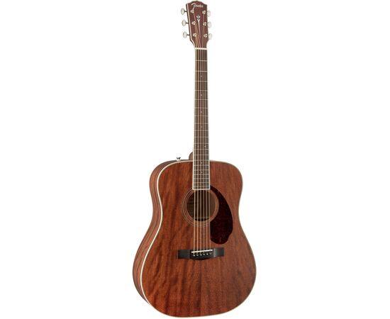 Акустическая гитара FENDER PM-1 DEADNOUGHT ALL MAHOGANY WITH CASE NATURAL, фото