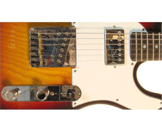 Електрогітара G & L ASAT CLASSIC Blues Boy (3 Tone Sunburst, ebony) № CLF48480, фото 4