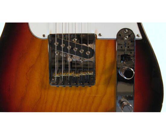 Електрогітара G & L ASAT CLASSIC Blues Boy (3 Tone Sunburst, ebony) № CLF48480, фото 5